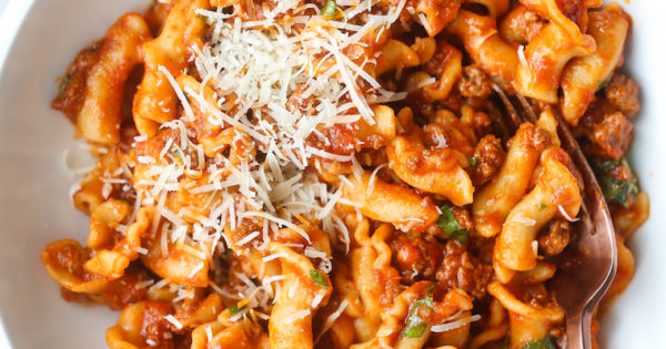 Instant Pot Ground Beef and Pasta