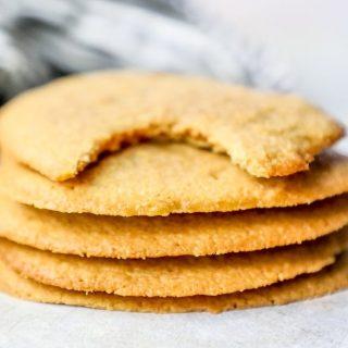 Galletas fáciles de mantequilla de maní Keto