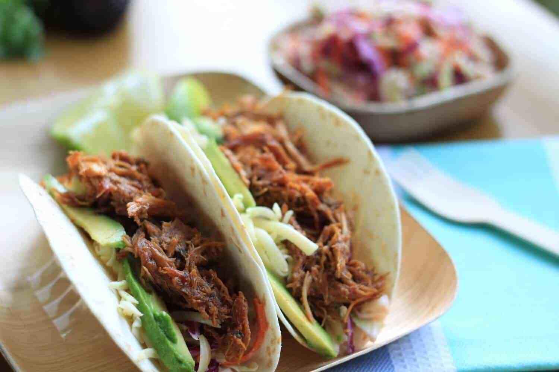 Carne de Cerdo (Tacos con Salsa BBQ) por Sugar Salt Magic