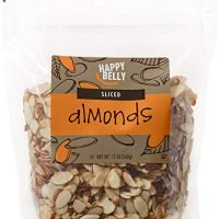 Marca Amazon - Happy Belly Amazon Brand Almendras en rodajas, 12 onzas