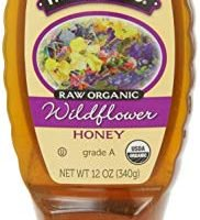 Honey Tree Raw Organic Honey, Flor silvestre, 12 onzas