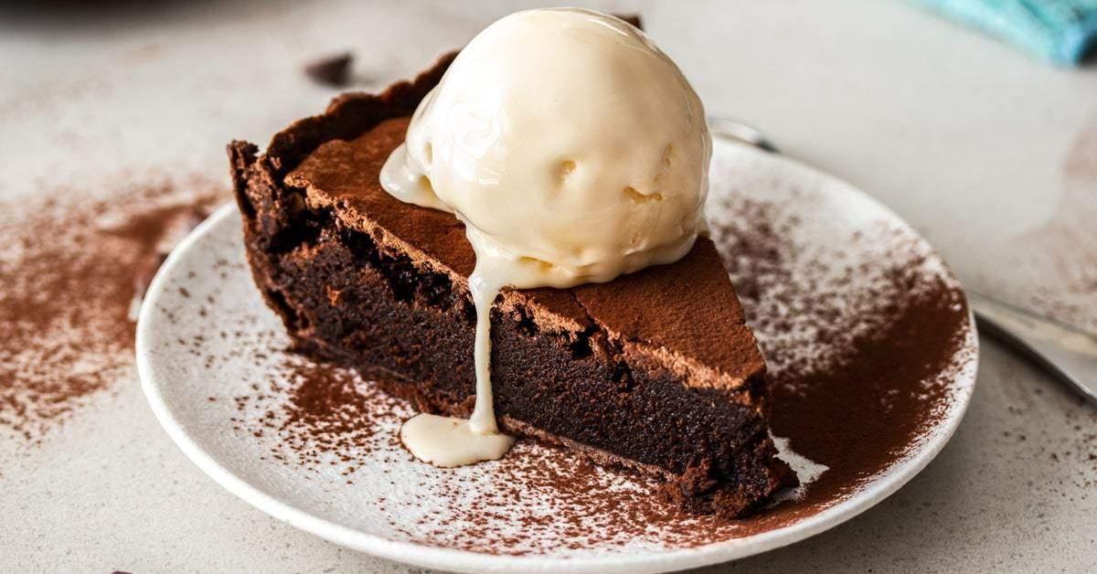 Pastel de Brownie de Chocolate | Magia de sal de azúcar