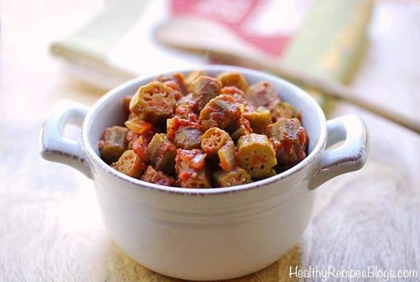 Vegetarian Okra Stew