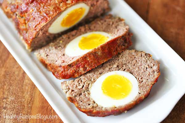Egg Stuffed Meatloaf