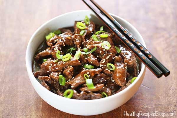 Easy Korean Beef Recipe