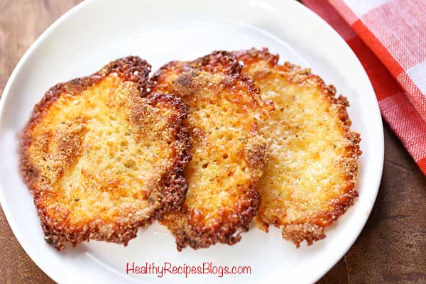 Low Carb Keto Cheese Crisps