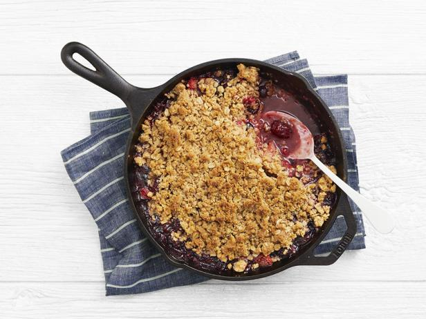 Cast-Iron Berry Crisp