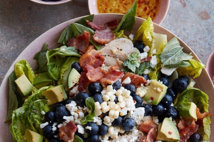 Monday: Summer Grilled Chicken Power Salad