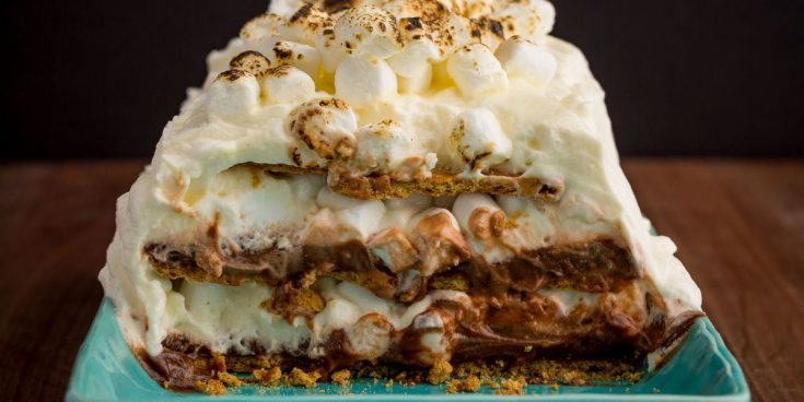 Best S'mores Icebox Cake Recipe - How To Make S'mores Icebox Cake