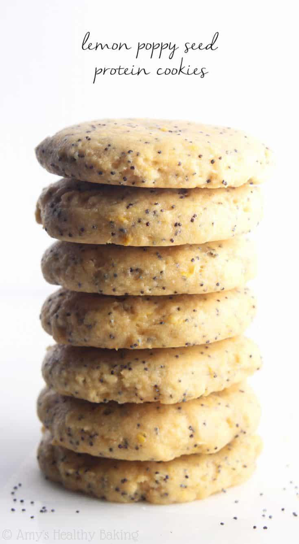 Treat: Lemon Poppy Seed Protein Cookies
