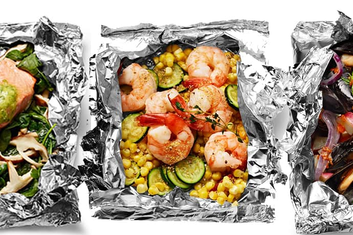 15 Minute Super Easy Foil Packet Fish Dinners