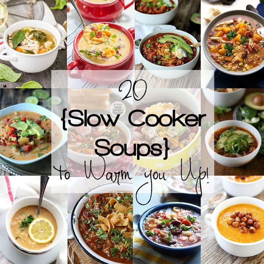 ¡20 sopas de cocción lenta para calentarte!