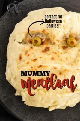 imagen de pin de pastel de carne de momia