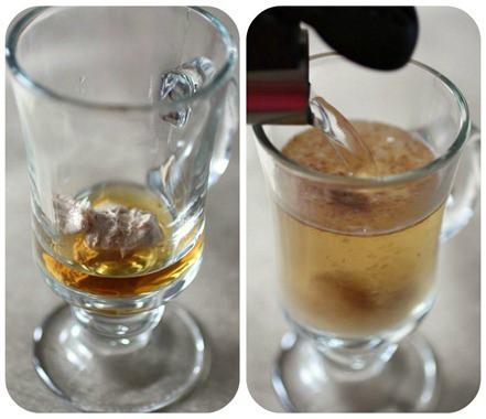 Collage de ron con mantequilla Chai Spiced