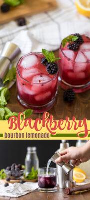 imagen de pin de limonada blackberry bourbon