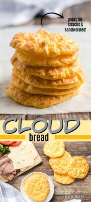 imagen de pin de pan de nube