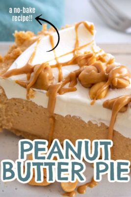 imagen de pin de pastel de mantequilla de maní sin hornear