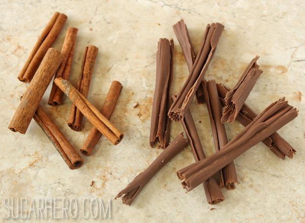 Tartas de mousse de canela | SugarHero.com