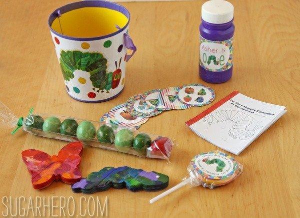 Ideas de fiesta Caterpillar muy hambrientas «Muvy SugarHero.com