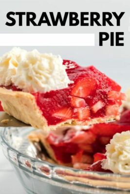 imagen de pin de pastel de fresa