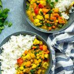 Butternut Squash Pollo Al Curry