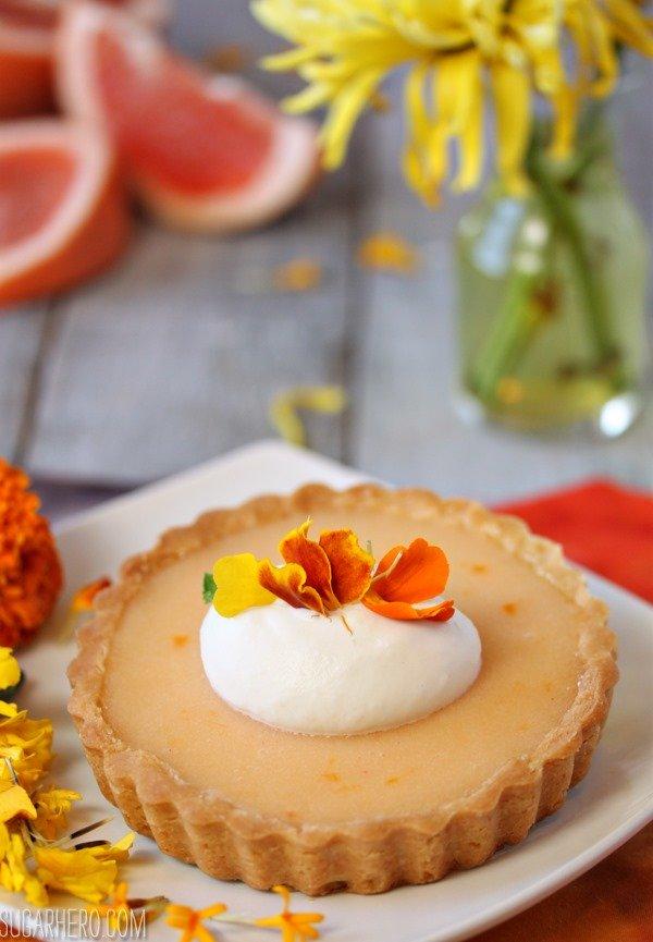 Tartas de pomelo | SugarHero.com