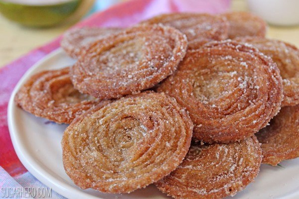 Churro Ice Cream Sandwiches   De SugarHero.com