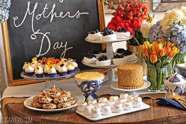 Fiesta del té del día de la madre | SugarHero.com