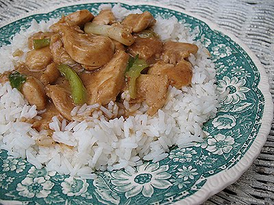 Chicken Scallion Stir Fry