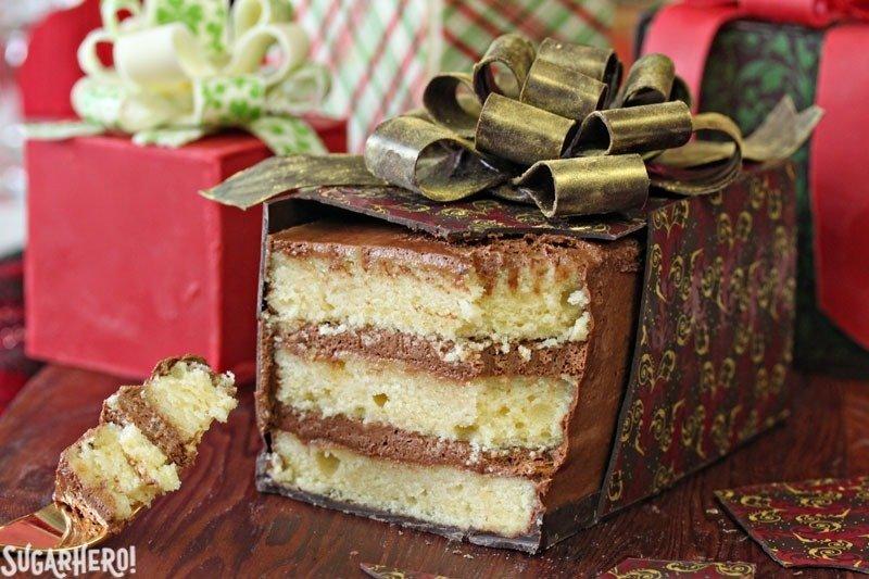 Tortas actuales envueltas en chocolate | De SugarHero.com