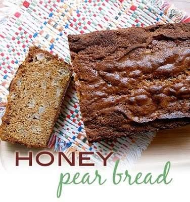 Pan de pera y miel