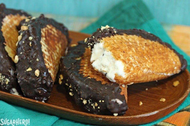 Receta casera de tacos de choco | De SugarHero.com
