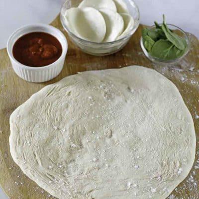 receta de masa de pizza casera