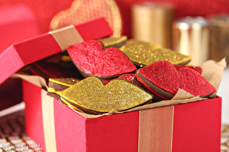 Red Hot Love Cookies   De SugarHero.com