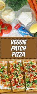 pizza vegetariana fría