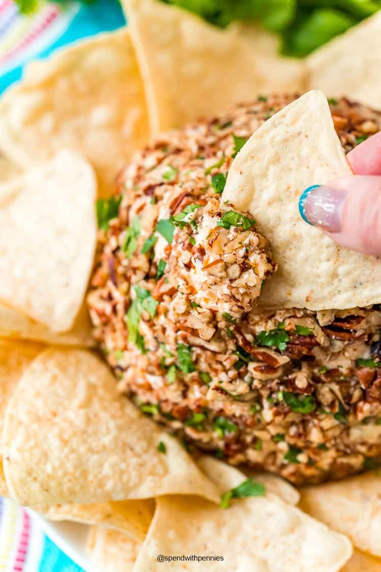 Receta Taco Cheese Ball