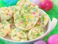 Easy Easter Marshmallow Bark -
