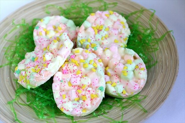 Corteza de malvavisco de Pascua: