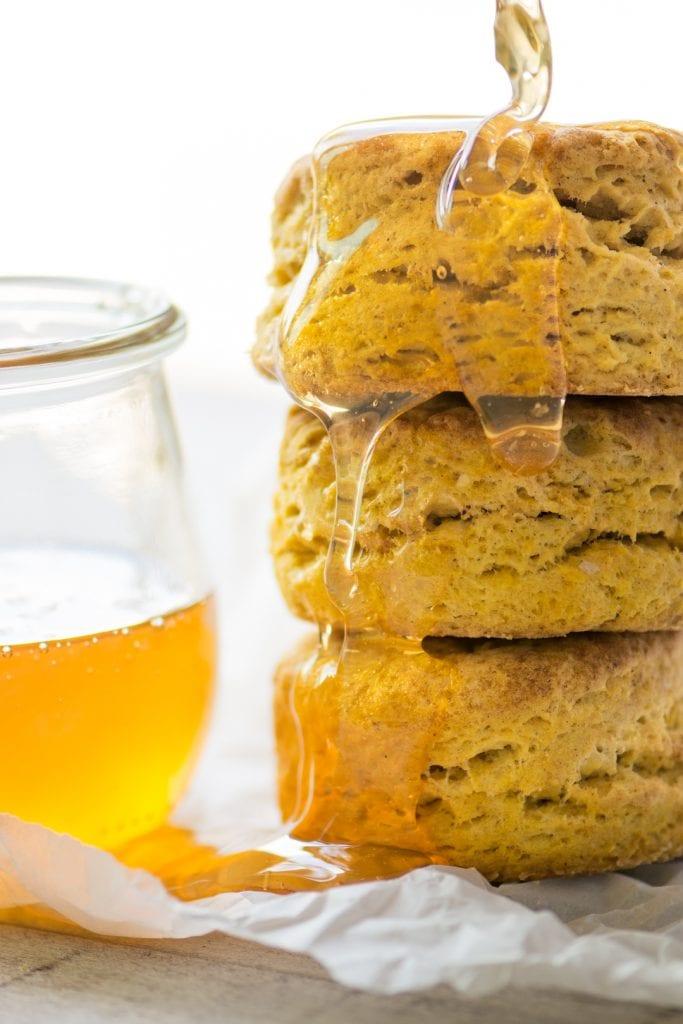galletas de calabaza con miel