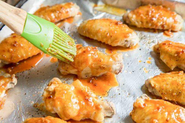 Alitas de pollo miso