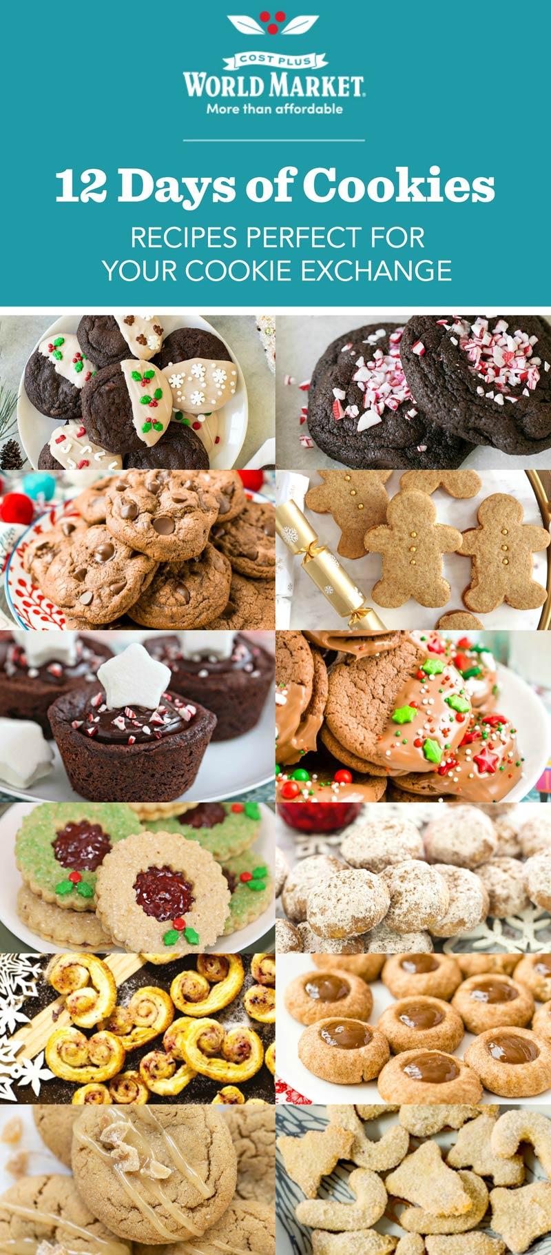 Costo más mercado mundial 12 días de cookies