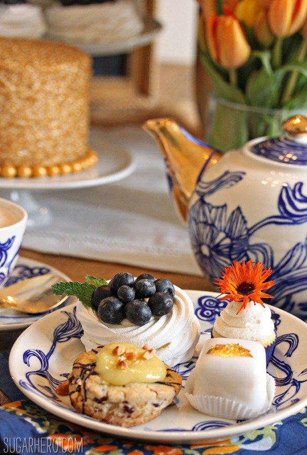 Fiesta del té del día de la madre | De SugarHero.com