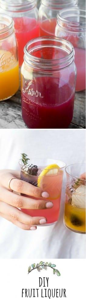 Cómo hacer licor de frutas casero --- este método rápido y fácil hace un licor hermoso y vibrante que está listo para beber en 24 horas --- ¡salud! theviewfromgreatisland.com