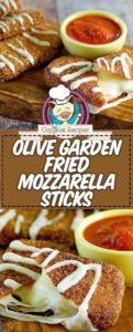 imitación palitos de mozzarella frita como el jardín de olivos