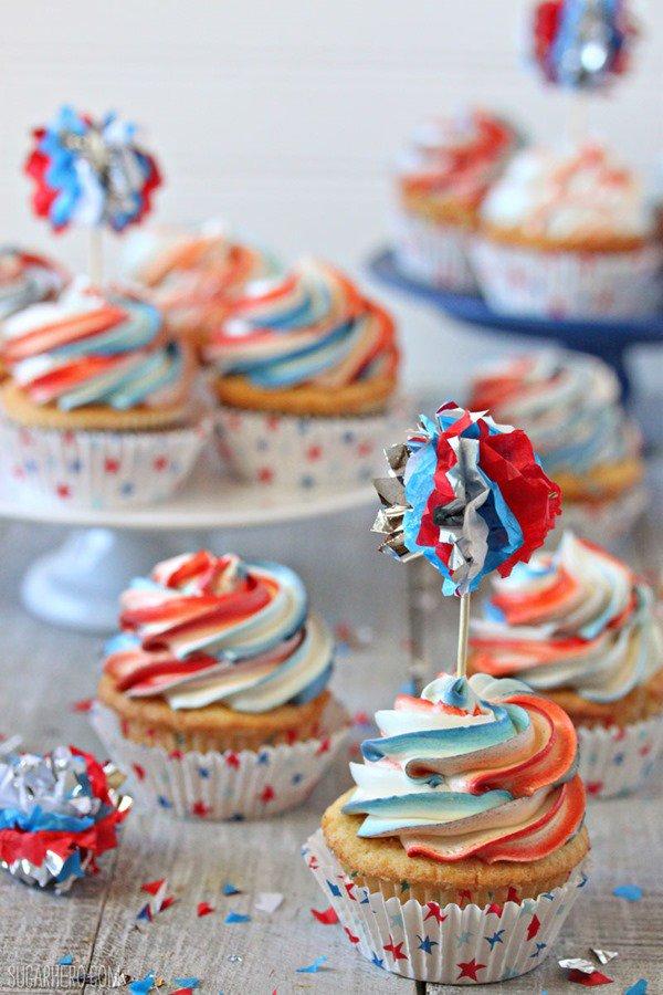 Cupcakes explosivos | De SugarHero.com