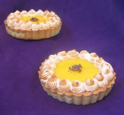 Deliciosas tartelettes de crema de limón