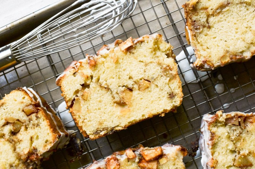 pan de buñuelos de manzana