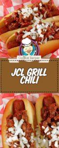 dos hot dogs de chile con chile casero