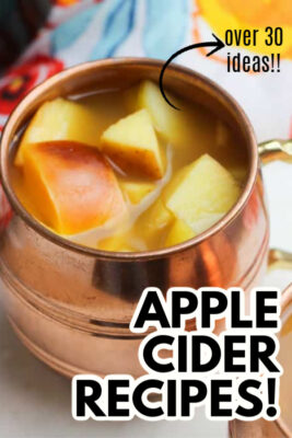 imagen de pin de recetas de sidra de manzana