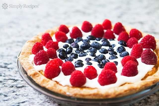 """Pastel de suero de leche del cuatro de julio """"data-pin-description ="""" Pastel de suero de leche del cuatro de julio ~ Pastel de suero de leche americano clásico, elaborado con un poco de rojo, blanco y azul (frambuesas, crema batida y arándanos). ~ SimplyRecipes.com #dessert #fourthofjuly #buttermilk #pie """"data-pin -cipe ="""" 9861 """"srcset ="""" data: image / gif; base64, R0lGODlhAQABAAAAACH5BAEKAAEALAAAAAABAAEAAAICTAEAOw == """"tallas = 640; """"data-srcset ="""" https://cocinarrecetasdepostres.net/wp-content/uploads/2019/11/Pastel-de-suero-de-leche-del-cuatro-de-julio.jpg 640w, https: // www .simplyrecipes.com / wp-content / uploads / 2010/06 / four-of-july-buttermilk-pie-horiz-a-640-300x200.jpg 300w, https://www.simplyrecipes.com/wp-content/ uploads / 2010/06 / four-of-july-buttermilk-pie-horiz-a-640-600x400.jpg 600w, https://www.simplyrecipes.com/wp-content/uploads/2010/06/fourth-of -july-buttermilk-pie-horiz-a-640-440x294.jpg 440w, https://www.simplyrecipes.com/wp-content/uploads/2010/06/fourth-of-july-buttermilk-pie-horiz- a-640-200x133.jpg 200w """"datos-tamaños ="""" auto """"data-src ="""" https://www.simplyrecipes.com/wp-content/uploads/2010/06/fourth-of-july-buttermilk-pie -horiz-a-640.jpg """"/>                   <p>Crédito de fotografía: Elise Bauer </p><div class="""